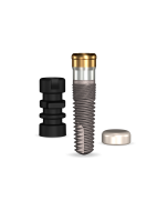 Implant Direct™ Dentistry GoDirect 3.7mmD X 11.5mmL, 1.5mm Collar Height SBM 4.0mmD Platform Dental Implant System - 1 / Pack