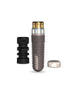 Implant Direct™ Dentistry GoDirect 4.7mmD X 13mmL, 1.5mm Collar Height SBM 4.0mmD Platform Dental Implant System - 1 / Pack