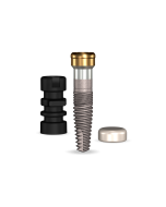 Implant Direct™ Dentistry GoDirect 3.0mmD X 10mmL, 3mm Collar Height SBM 4.0mmD Platform Dental Implant System - 1 / Pack