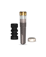 Implant Direct™ Dentistry GoDirect 3.7mmD X 13mmL, 3.0mm Collar Height SBM 4.0mmD Platform Dental Implant System - 1 / Pack