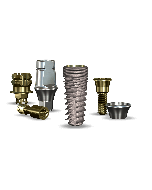 Implant Direct™ Dentistry InterActive 4.3mmD x 10mmL SBM: 3.4mmD Platform Dental Implant System - 1 / Pack