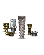 Implant Direct™ Dentistry InterActive 4.3mmD x 13mmL SBM: 3.4mmD Platform Dental Implant System - 1 / Pack