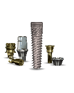 Implant Direct™ Dentistry InterActive 4.3mmD x 16mmL SBM: 3.4mmD Platform Dental Implant System - 1 / Pack