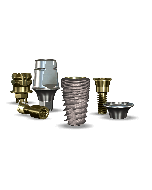 Implant Direct™ Dentistry InterActive 5.0mmD x 8mmL SBM: 3.4mmD Platform Dental Implant System - 1 / Pack