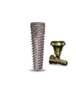 Implant Direct™ Dentistry simplyInterActive 5.0mmD x 16mmL SBM: 3.4mmD Platform Dental Implant System - 1 / Pack