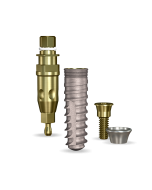 Implant Direct™ Dentistry SwishActive 4.1mmD x 14mmL SBM: 3.4mmD Platform Dental Implant System - 1 / Pack