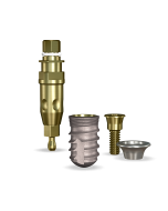 Implant Direct™ Dentistry SwishActive 4.8mmD x 8mmL SBM: 3.4mmD Platform Dental Implant System - 1 / Pack