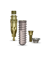 Implant Direct™ Dentistry SwishActive 4.8mmD x 14mmL SBM: 3.4mmD Platform Dental Implant System - 1 / Pack