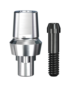 Implant Direct™ Dentistry RePlant SimplyCrown & Bridge Abutment (5.7mmD Width x 5.0mmD Platform x 2mmL Collar Height) - 1 / Per Box