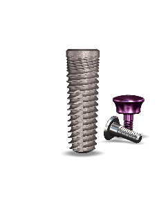 Implant Direct Dentistry simplyLegacy2™  5.2mmD x 16mmL SBM: 4.5mmD Platform Dental Implant System - 1 / Pack