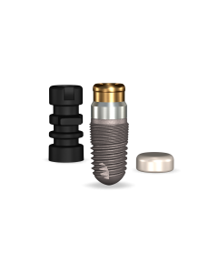 Implant Direct™ Dentistry GoDirect 4.7mmD X 8mmL, 1.5mm Collar Height SBM 4.0mmD Platform Dental Implant System - 1 / Pack