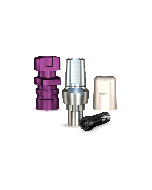 Implant Direct™ Dentistry RePlant Straight Snappy Type Titanium Abutment (4.7mmD Width x 4.3mmD Platform x 2mmL Collar Height) - 1 / Per Box