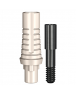 Implant Direct™ Dentistry RePlant Plastic Engaging Temporary Abutment (4.3mmD Platform) - 1 / Per Box