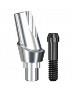 Implant Direct™ Dentistry RePlant 15° Angled Contoured Titanium Abutment (4.3mmD Platform x 2mmL Collar Height) - 1 / Per Box