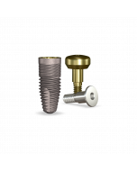 Implant Direct™ Dentistry simplyRePlant 4.3mmD X 10mmL SBM: 4.3mmD Platform Dental Implant System - 1 / Pack