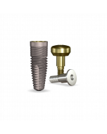Implant Direct™ Dentistry simplyRePlant 4.3mmD X 11.5mmL SBM: 4.3mmD Platform Dental Implant System - 1 / Pack