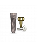 Implant Direct™ Dentistry simplyRePlant 4.3mmD X 13mmL SBM: 4.3mmD Platform Dental Implant System - 1 / Pack
