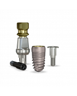 Implant Direct™ Dentistry ReActive 4.7mmD X 8mmL SBM: 4.3mmD Platform Dental Implant System - 1 / Pack
