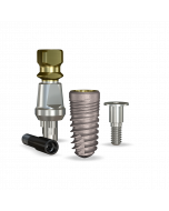 Implant Direct™ Dentistry ReActive 4.7mmD X 10mmL SBM: 4.3mmD Platform Dental Implant System - 1 / Pack
