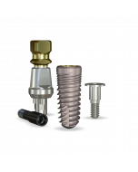 Implant Direct™ Dentistry ReActive 4.7mmD X 11.5mmL SBM: 4.3mmD Platform Dental Implant System - 1 / Pack
