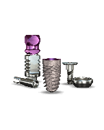 Implant Direct Dentistry Legacy2™ 4.7mmD X 8mmL SBM: 4.5mmD Platform Dental Implant System - 1 /Pack