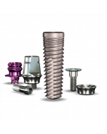 Implant Direct Dentistry Legacy4™ 5.2mmD x 16mmL SBM: 4.5mmD Platform Dental Implant System - 1 /Pack